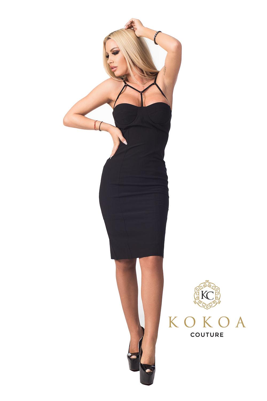 rochie eleganta scurta black desire pentru club