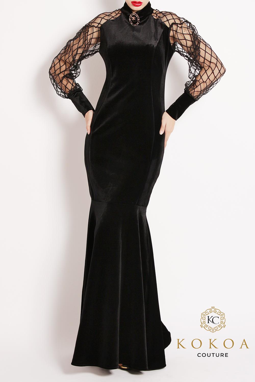 rochie de seara lunga Clarice
