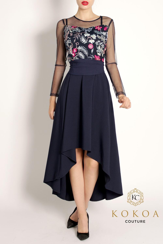 rochie lunga de seara Tiara