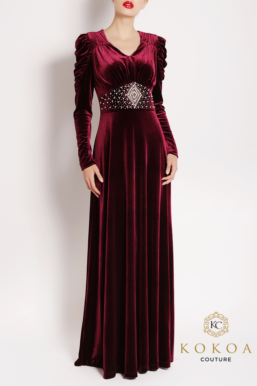 rochie lunga de seara Jasmine