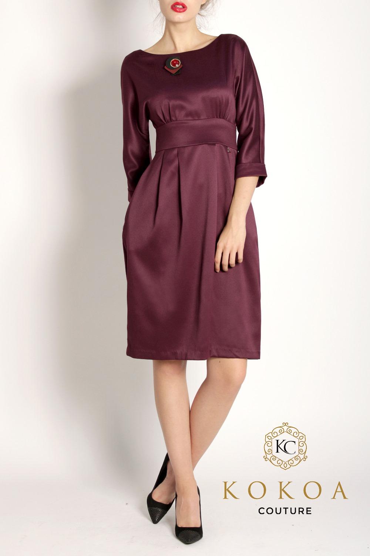 rochie eleganta de zi Adele