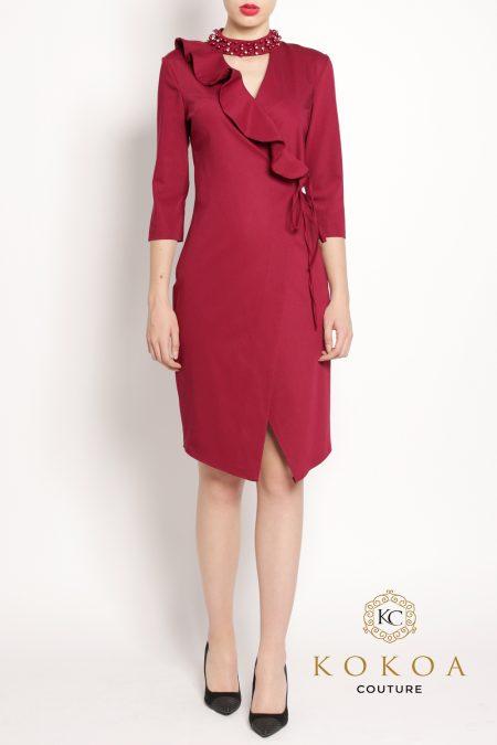 rochie eleganta scurta Latifah