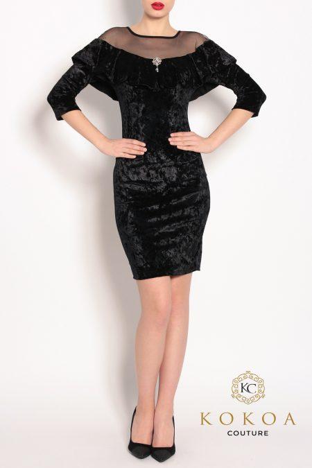 Rochie-eleganta-Erika-negru