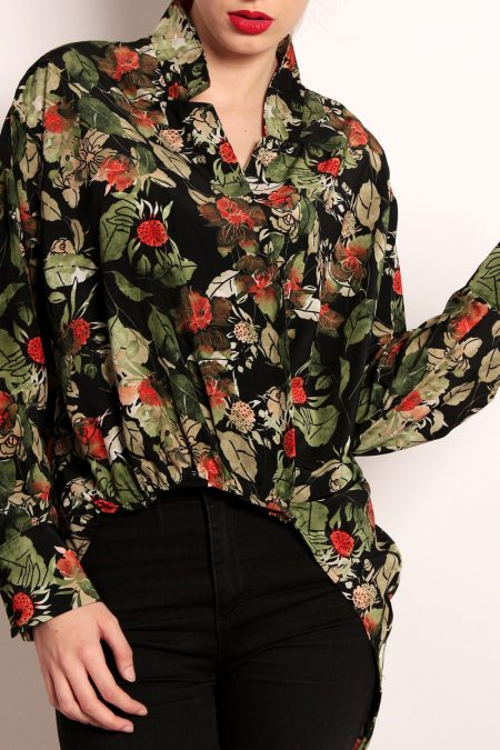 camasi dama en-gros zara green