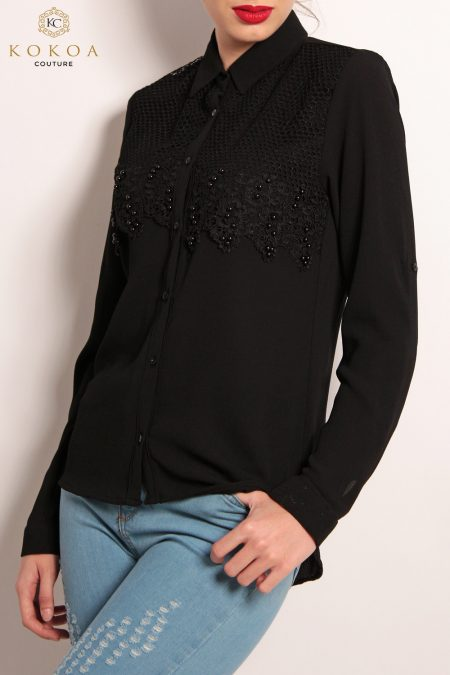camasi dama en gros loli black